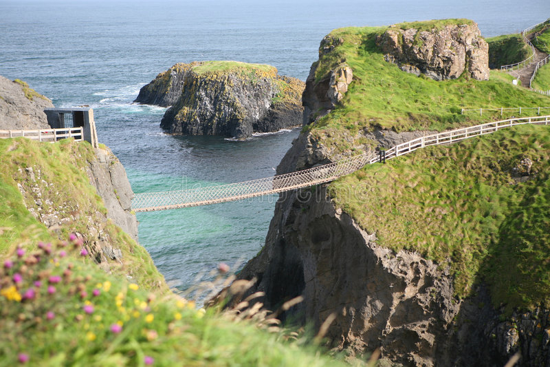 Download Rope Bridge, Antrim, Northern Ireland Stock Photo - Image: 3053250