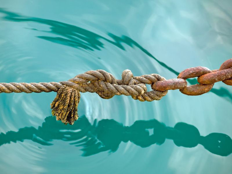 Rope & Chain 2 stock photos