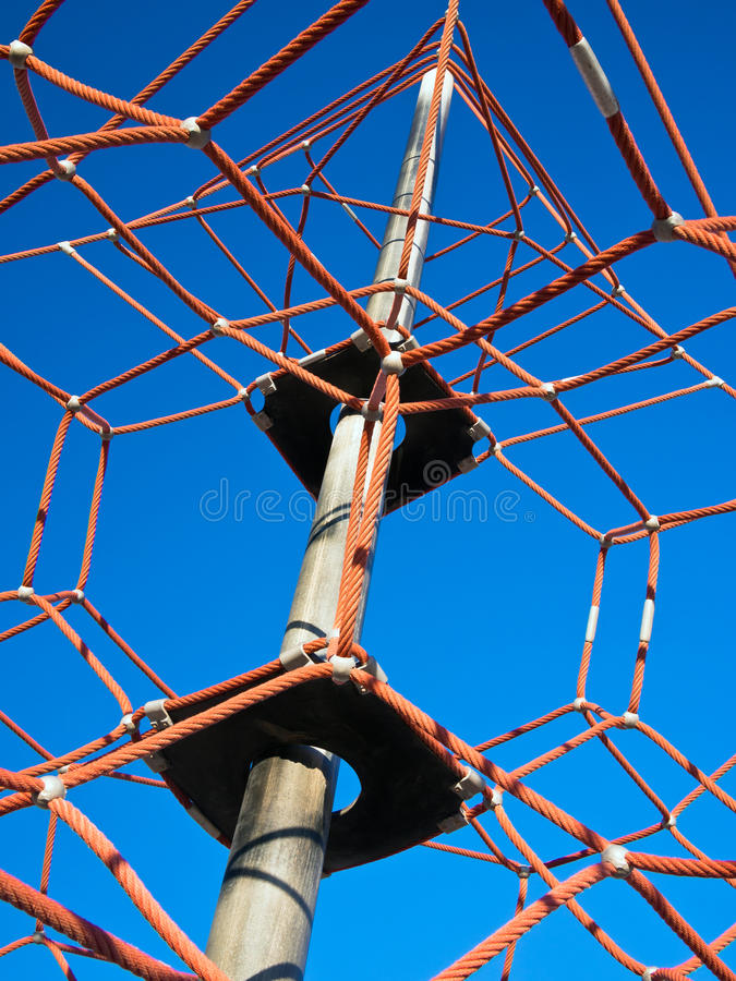 Rope Net Climbing Frame stock image. Image of abstract - 30646805