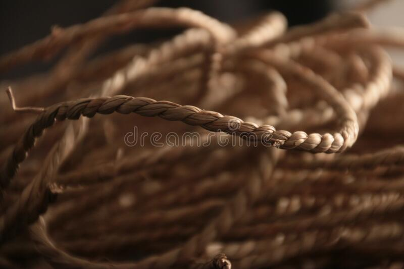 Rope close up royalty free stock image
