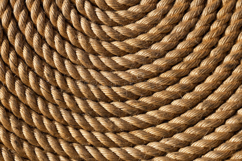 Download Rope folded helix stock image. Image of natural, aged - 22553203
