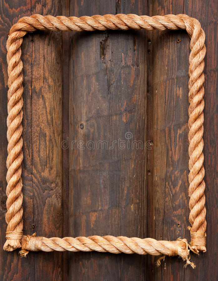 Rope frame stock photo image of details ropes texture Rope photo frame