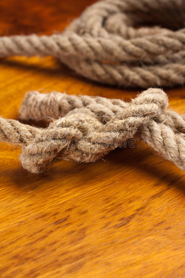 Download Rope with a knot stock photo. Image of hard, fibre, knotted - 21449134