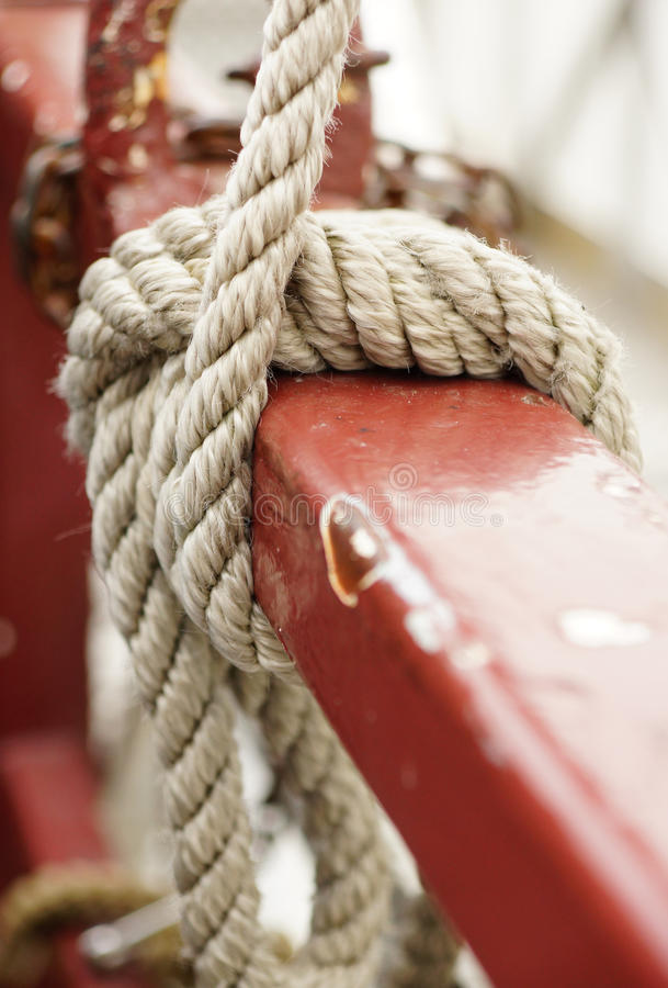 Download Rope knot stock image. Image of security, rope, strong - 27256053
