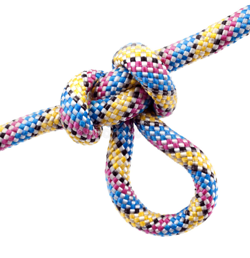 Rope With Knot Royalty Free Stock Photo
