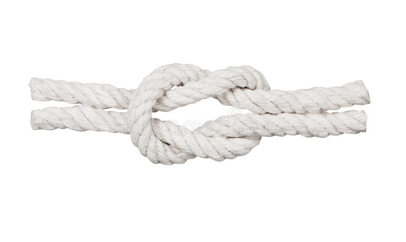 Download Rope with knot, stock photo. Image of tackle, rough, climbing - 28519802