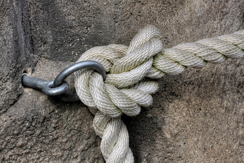 Download Rope Knot stock photo. Image of protection, bend, belay - 40020898