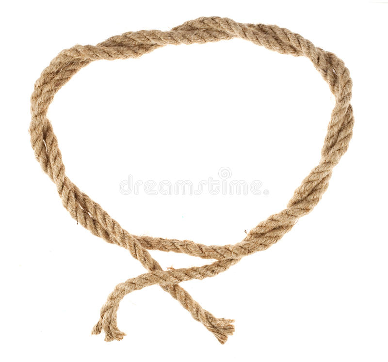 Download Rope loop stock image. Image of attached, noose, natural - 13126837