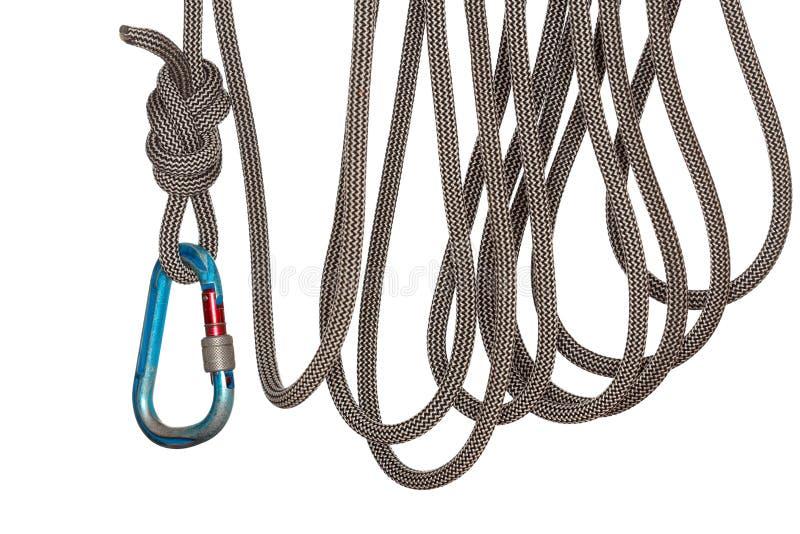 Rope loops stock image