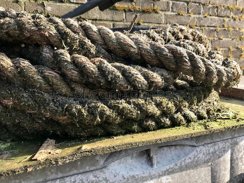 Rope in Netherland royalty free stock photo