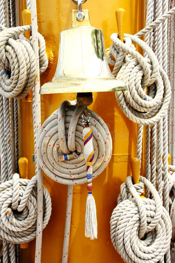 Download Rope And Ring Bell Stock Image - Image: 32701181