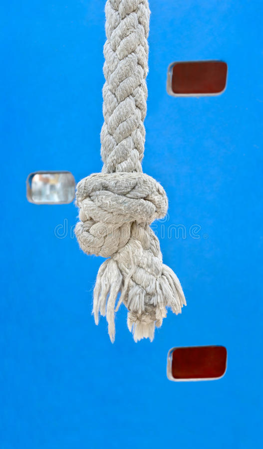 Rope for playground royalty free stock photos
