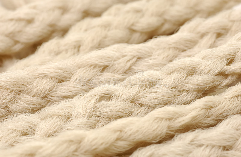 Rope Texture stock image