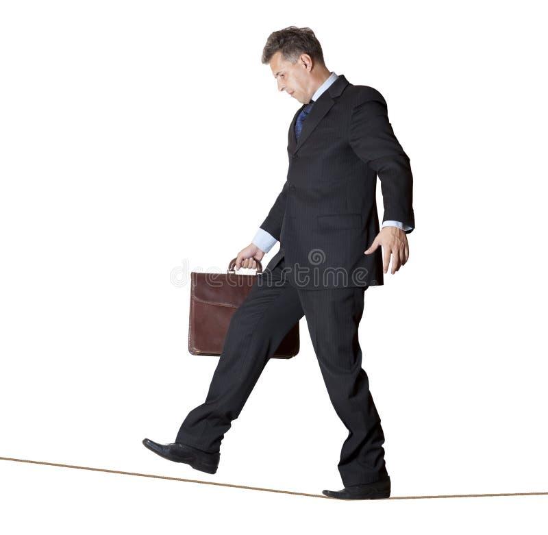 Rope-walker immagini stock libere da diritti