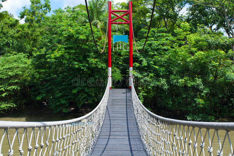 Download Rope walkway stock image. Image of river, passage, destination - 19757603