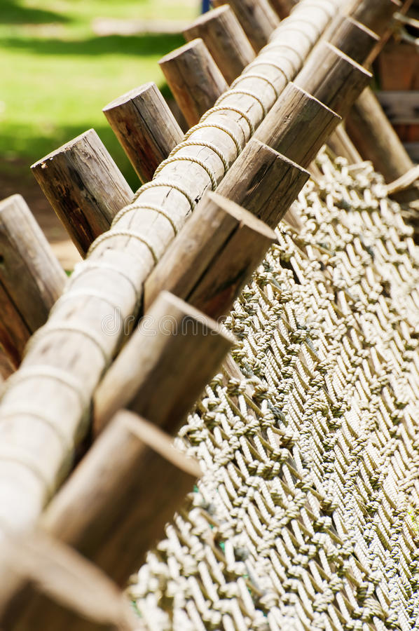 Download Rope And Wood Stock Photos - Image: 19999343