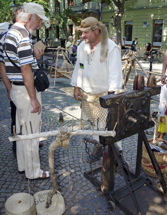 Download The ropemaker editorial image. Image of craftsman, artisan - 33440740
