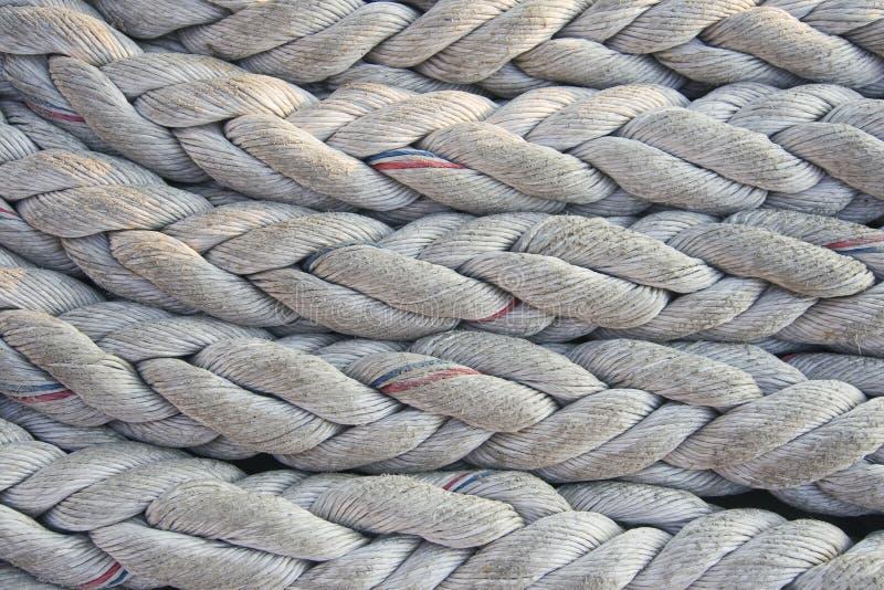 Ropes Background Stock Photo