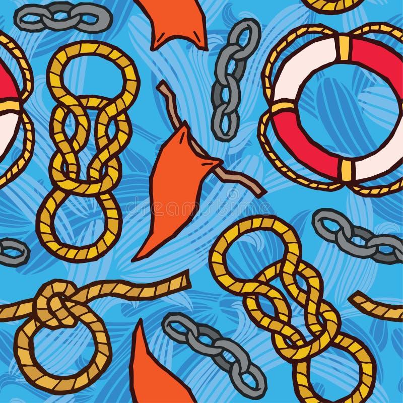 Free Ropes, Knots, Flags, Lifebuoy - Marine Rigging Royalty Free Stock Image - 45603006