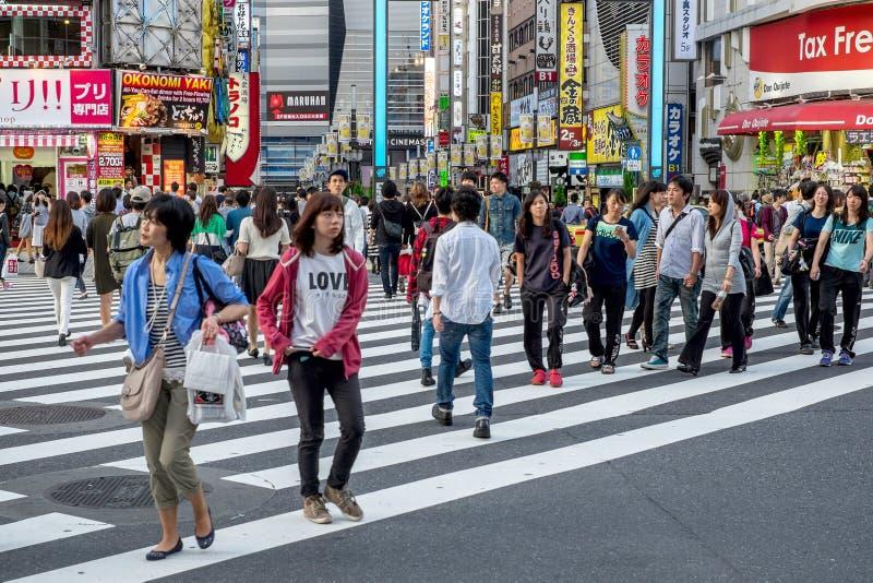Roppongi område i Tokyo, Japan royaltyfria foton