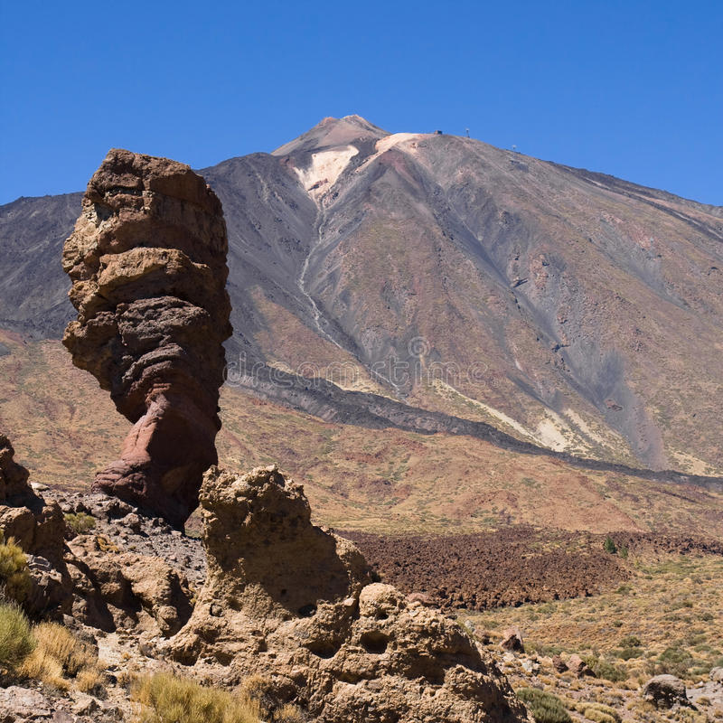 Download Roque Cinchado stock photo. Image of landscape, square - 28742532