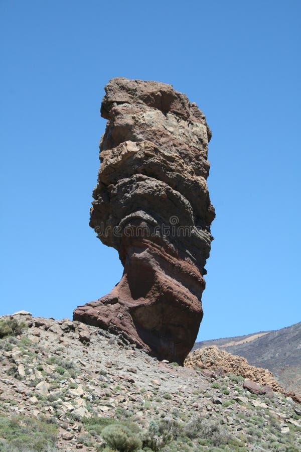 Roque Cinchado, Tenerife lizenzfreies stockfoto
