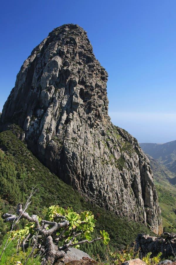 Roque de Agando immagine stock