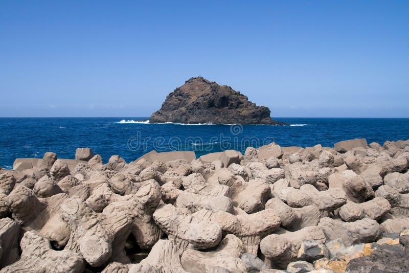 Roque de Garachico 免版税库存图片