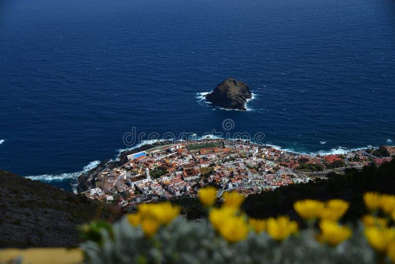 Roque de Garachico - Tenerife imagens de stock royalty free