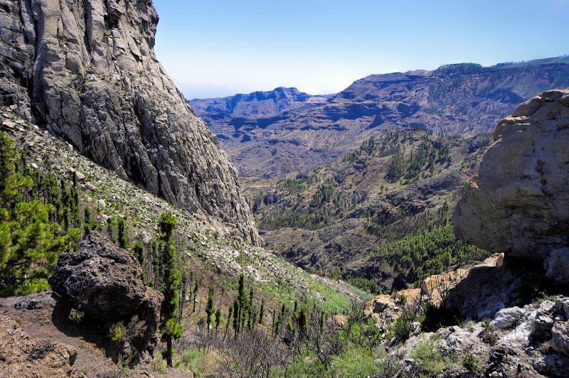 Roque El Cano, La Gomera. La Gomera - Roque El Cano, La Gomera, Canary island, Spain stock photography