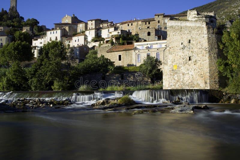 Roquebrun 库存图片