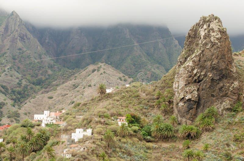 Roques de Hermigua, La Gomera. Roques de Hermigua, La Gomera, Canary Islands, Spain stock images
