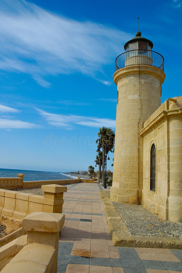 Roquetas de Mar στοκ φωτογραφία με δικαίωμα ελεύθερης χρήσης