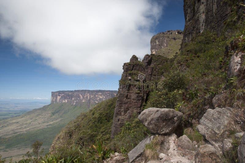 Roraima plateau. Wenezuela zdjęcia royalty free