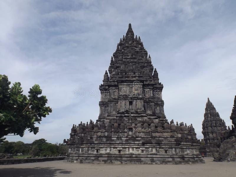 RORO JONGGRANG świątynia obraz royalty free