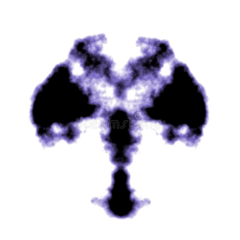 Rorschach inkblot royalty ilustracja