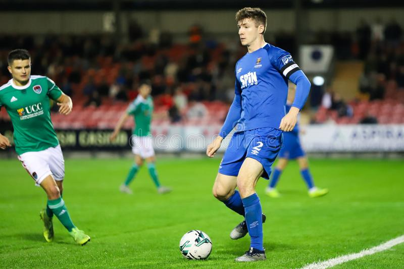 Rory Feely at the League of Ireland Premier Division match: Cork City FC vs Waterford FC. September 2nd, 2019, Cork, Ireland - Rory Feely at the League of stock photo