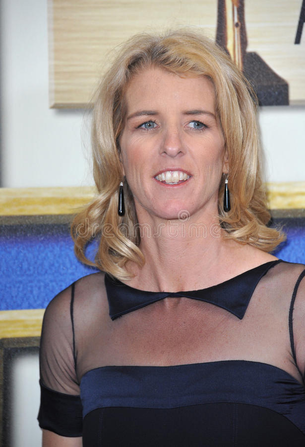 Rory Kennedy. LOS ANGELES, CA - FEBRUARY 14, 2015: Director Rory Kennedy - daughter of Robert F. Kennedy - at the 2015 Writers Guild Awards at the Hyatt Regency royalty free stock photos