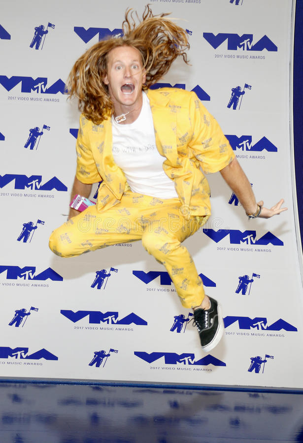 Rory Kramer. At the 2017 MTV Video Music Awards held at the Forum in Inglewood, USA on August 27, 2017 royalty free stock photo
