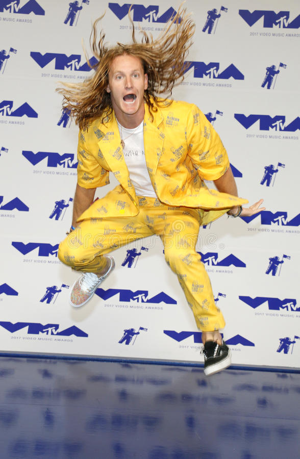 Rory Kramer. At the 2017 MTV Video Music Awards held at the Forum in Inglewood, USA on August 27, 2017 stock images