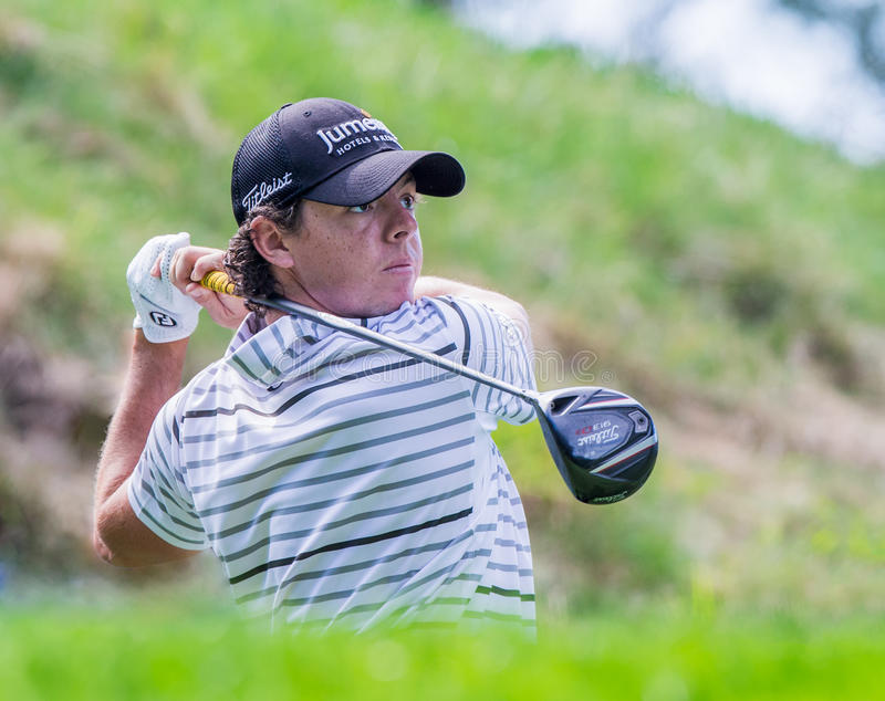 Rory McIlroy à Barclays 2012 photos stock