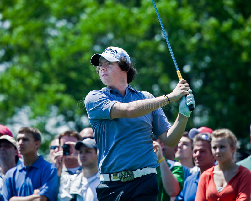 Rory McIlroy royalty free stock photography