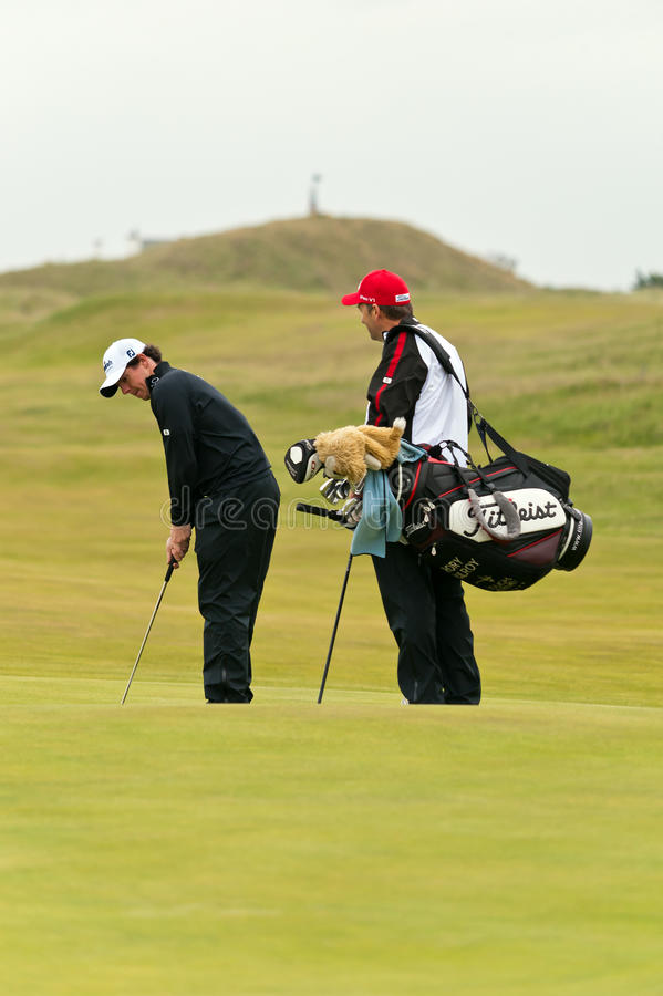 Rory Mcilroy at the 2011 open royalty free stock images
