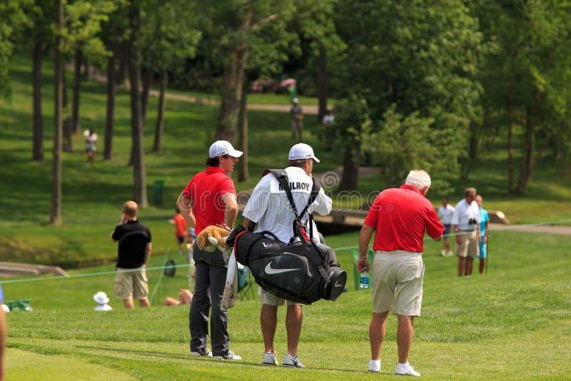 Rory McIlroy. At the Memorial Tournament 2013 in Dublin, Ohio, USA stock photos