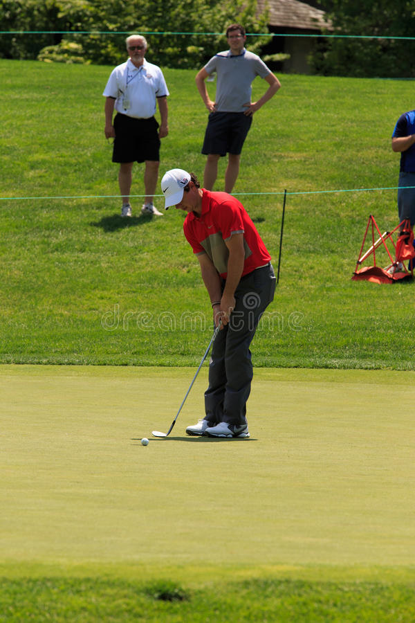 Rory McIlroy. At the Memorial Tournament 2013 in Dublin, Ohio, USA stock photo