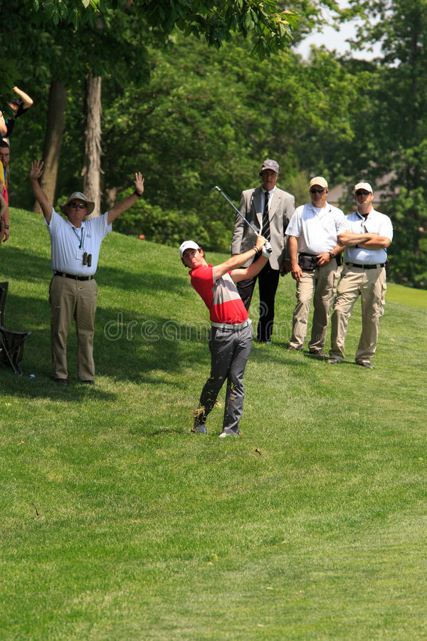 Rory McIlroy. At the Memorial Tournament 2013 in Dublin, Ohio, USA stock photography