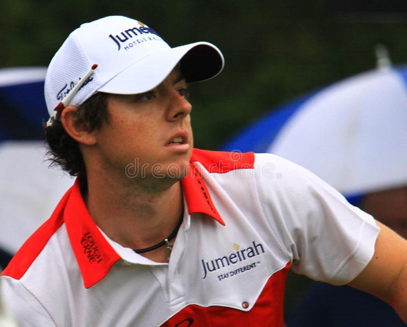Rory McIlroy from Northern Ireland stock photos