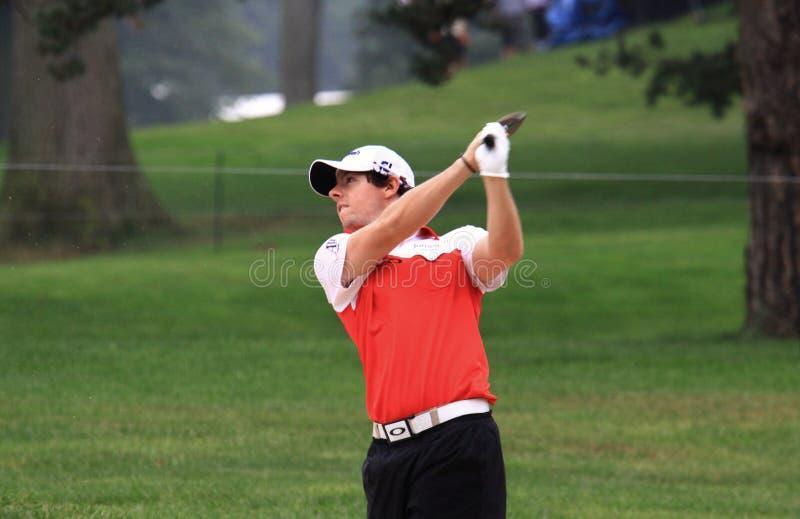 Rory McIlroy PGA pro obraz royalty free