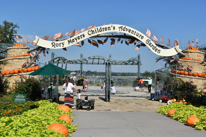 The Rory Meyers Children's Adventure Garden at the Dallas Arboretum and Botanical Garden in Texas. (USA stock photos