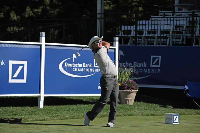 Rory Sabbatini. Boston, MA- August 30: Thursday Rory Sabbatini the Deutsche Bank Championship at the TPC Boston golf course on August 30 , 2012 in Boston royalty free stock image